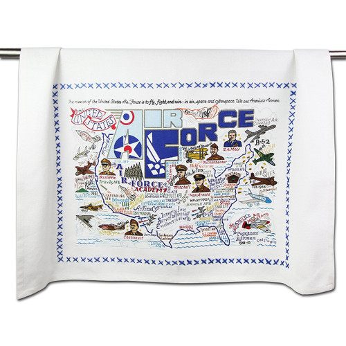 Catstudio Air Force Dish Towel
