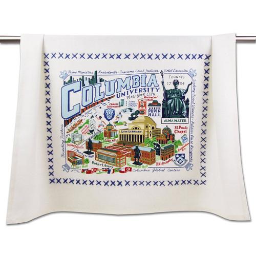 Catstudio Columbia University Collegiate Dish Towel