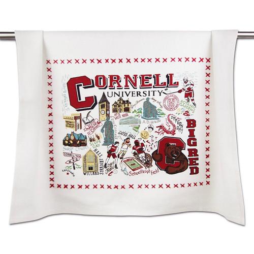 Catstudio Cornell University Collegiate Dish Towel