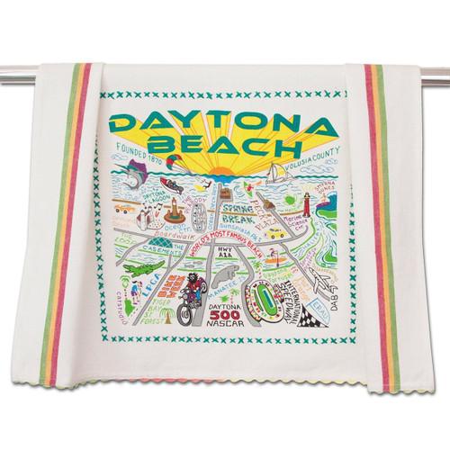 Catstudio Daytona Beach Dish Towel