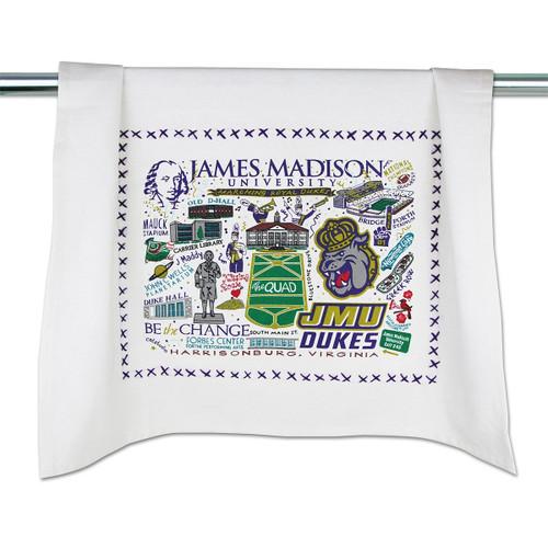 Catstudio James Madison University Collegiate Dish Towel