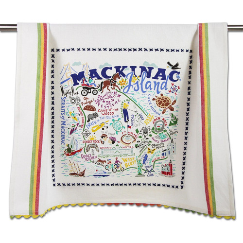 Catstudio Mackinac Island Dish Towel