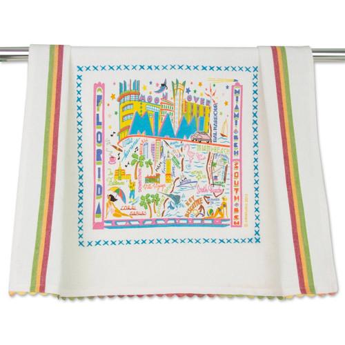 Catstudio Miami Dish Towel