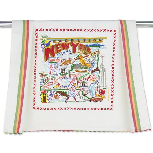 Catstudio New York State Dish Towel
