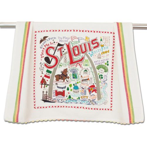 Catstudio St. Louis Dish Towel