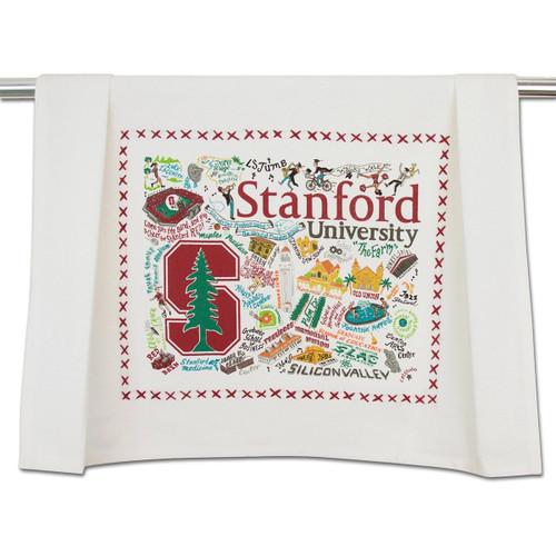 Catstudio Stanford University Collegiate Dish Towel