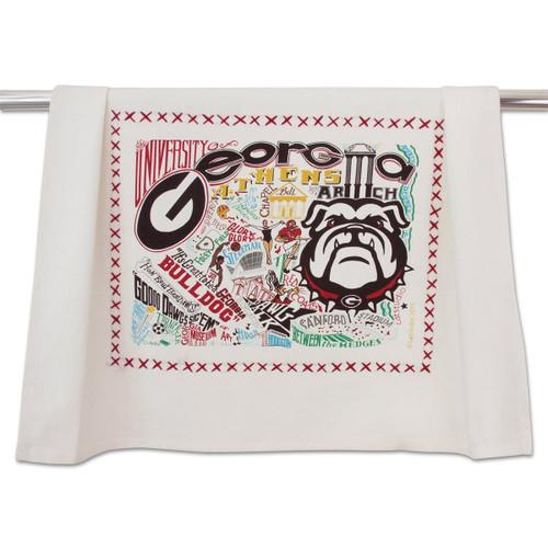 Catstudio Georgia University of Collegiate Dish Towel