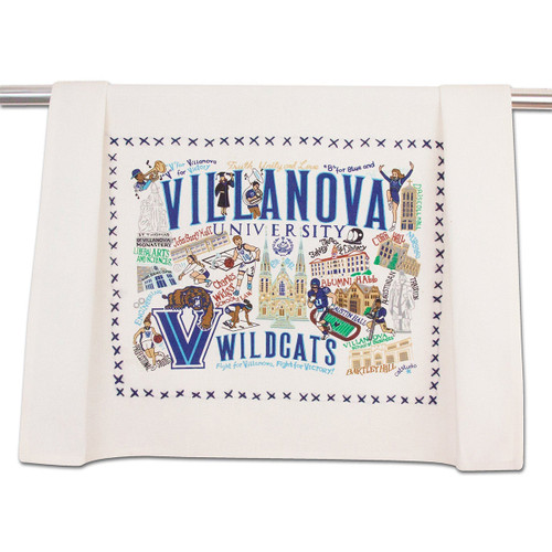 Catstudio Villanova University Collegiate Dish Towel