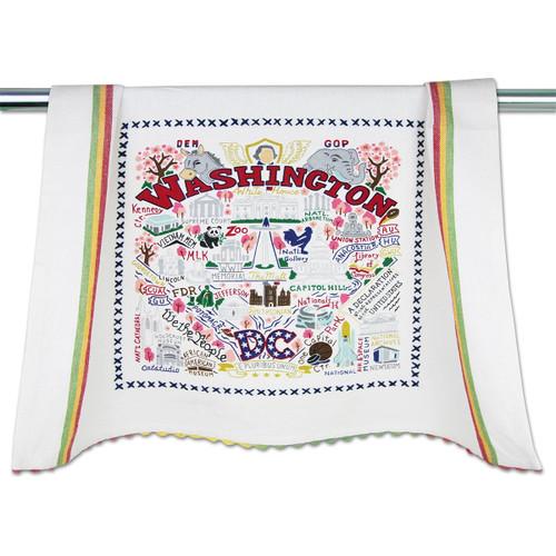 Catstudio Washington DC Dish Towel