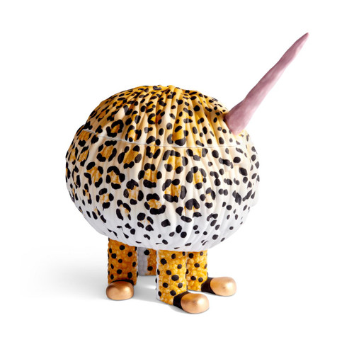 L'Objet Haas Brothers Second Skin Collection Yellow Leopard Monster - Limited Edition of 15