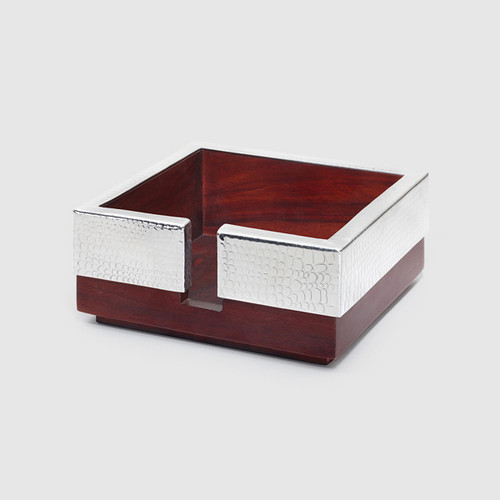 Mary Jurek Kenya Collection Rosewood Cocktail Napkin Holder