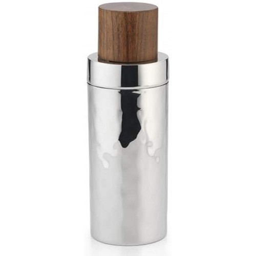 Mary Jurek Sierra Collection Cocktail Shaker with Wood Lid