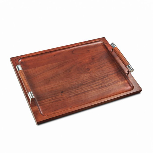 Mary Jurek Sierra Collection Wood Tray with Handles