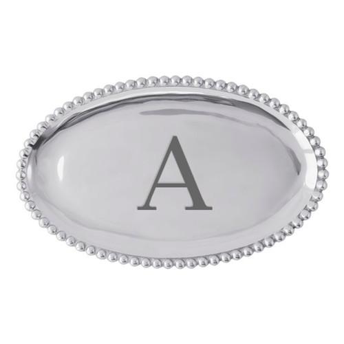 Mariposa A Pearled Platter