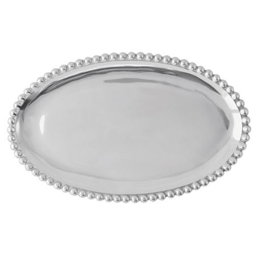 Mariposa L Pearled Platter
