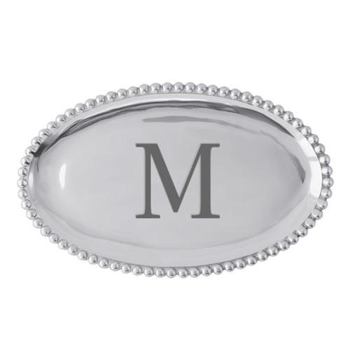 Mariposa M Pearled Platter