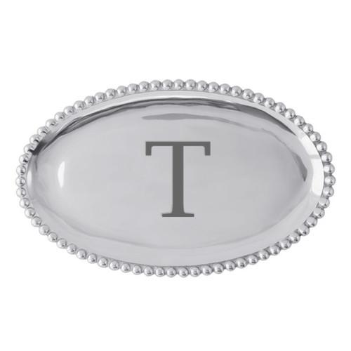 Mariposa T Pearled Platter