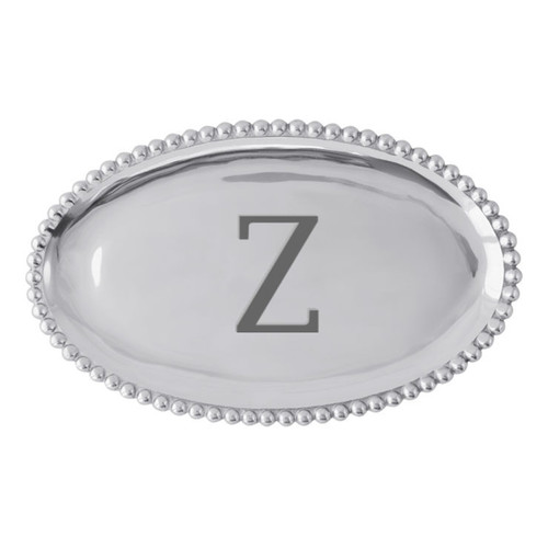Mariposa Z Pearled Platter