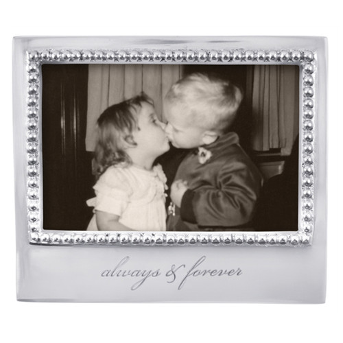 Mariposa 4 x 6 Always and Forever Beaded Frame