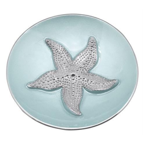 Mariposa Aqua Starfish Dip Dish