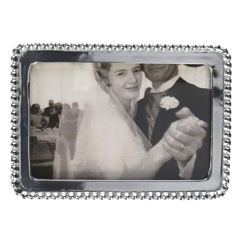 Mariposa 4 x 6 Beaded Engravable Frame