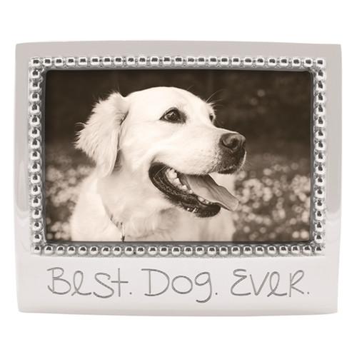 Mariposa 4 x 6 Best Dog Ever Beaded Frame