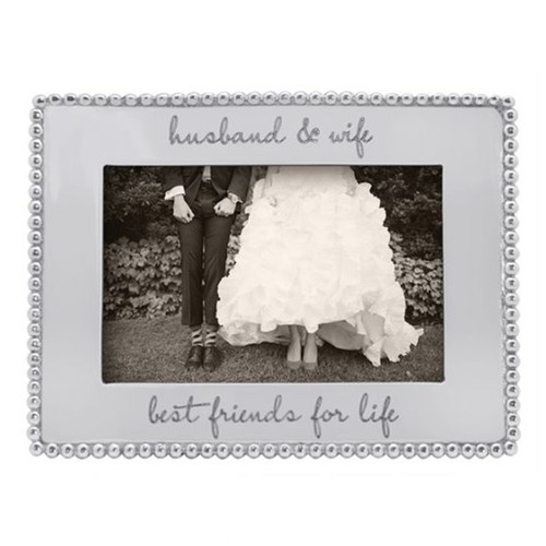 Mariposa 4 x 6 Best Friends For Life Beaded Frame