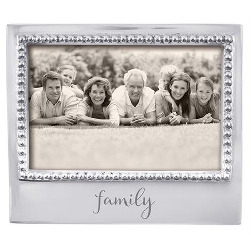 Mariposa 4 x 6 Family Beaded Frame