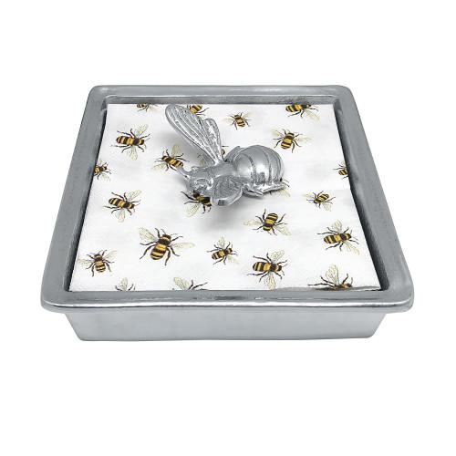 Mariposa Honey Bee Signature Napkin Box