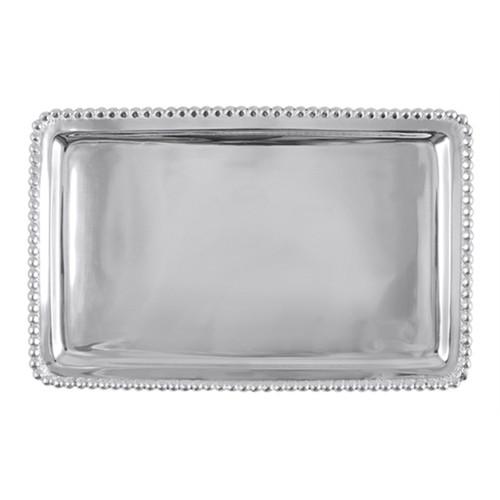 Mariposa Louisville Cityscape Beaded Buffet Napkin Plate