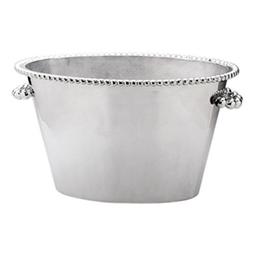 Mariposa Pearled Double Ice Bucket