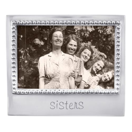 Mariposa 4 x 6 Sisters Beaded Frame