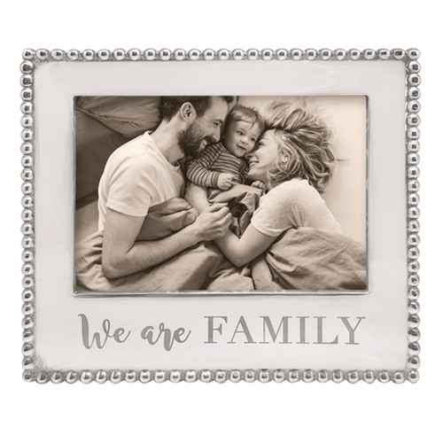 Mariposa 5 x 7 We Are Family Beaded Frame