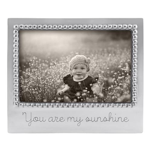 Mariposa You Are My Sunshine Beaded Frame