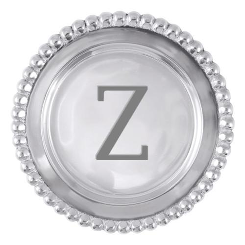 Mariposa Z Beaded Wine Plate
