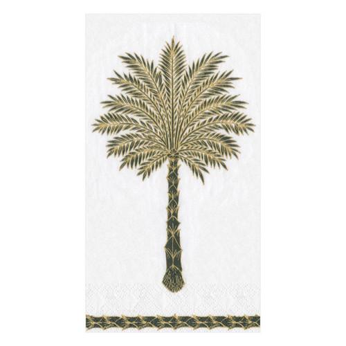 Caspari Grand Palms Guest Towel - 15 Per Package