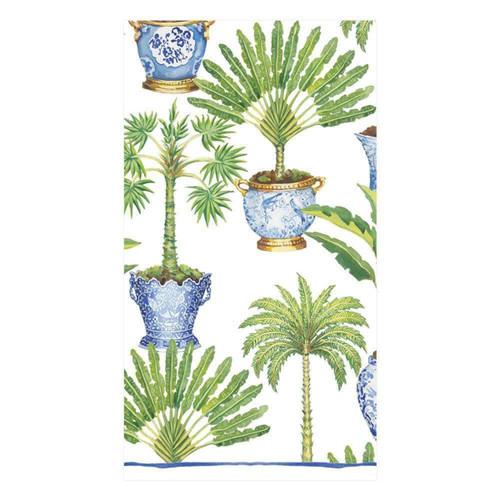 Caspari Potted Palms Paper Matchbox