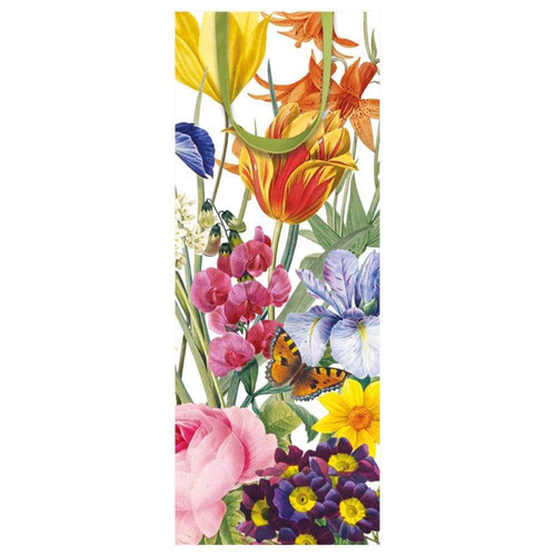 Caspari Redoute Floral Paper Matchbox