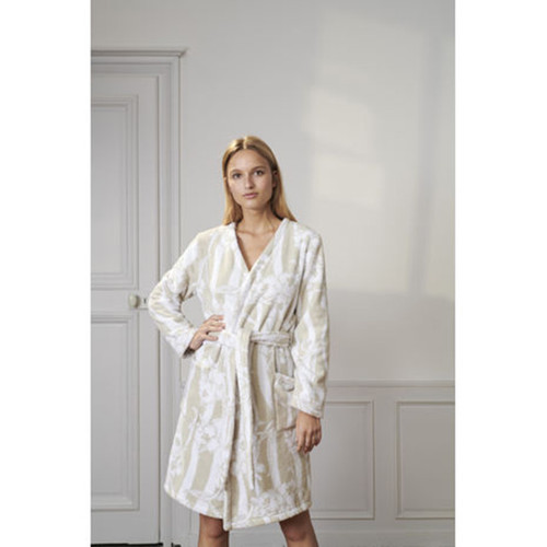 Yves Delorme Ondee Kimono Bath Robe