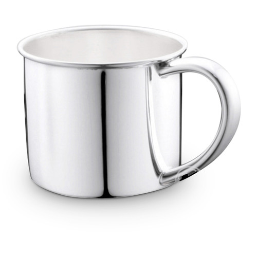 Cunill Silver Plated Plain Classic Baby Cup