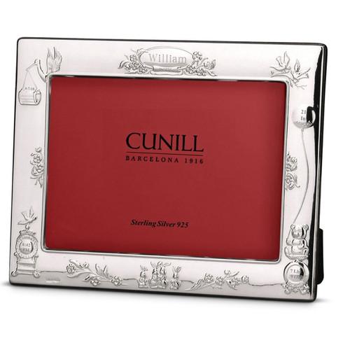 Cunill 6x4 Teddy Stork Birth Record Landscape Frame