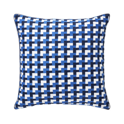 Yves Delorme 18 x 18 Zelliges Decorative Pillow