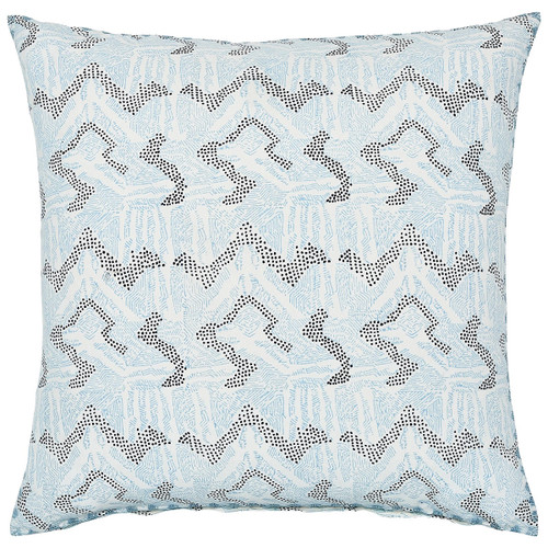 John Robshaw 26 x 26 Dulina Lapis Euro Decorative Pillow with Insert