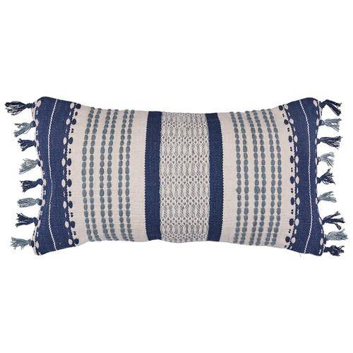 John Robshaw 17 x 32 Nisa Boslter Pillow with Insert