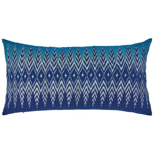 John Robshaw 17 x 32 Saggu Bolster Pillow with Insert