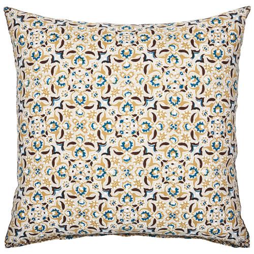 John Robshaw 22 x 22 Visada Decorative Pillow with Insert