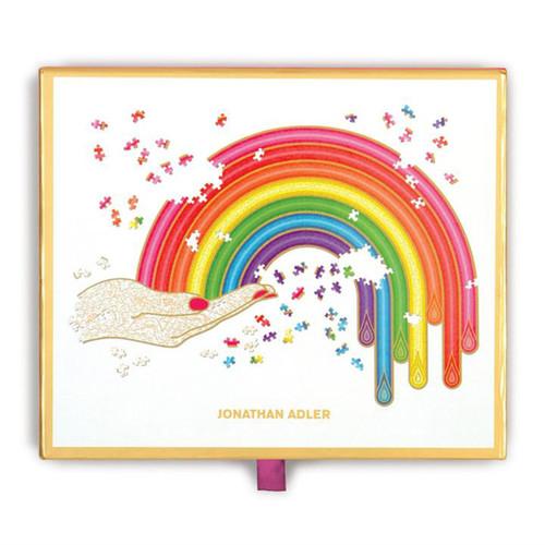 Jonathan Adler Rainbow Shaped 750 Piece Puzzle