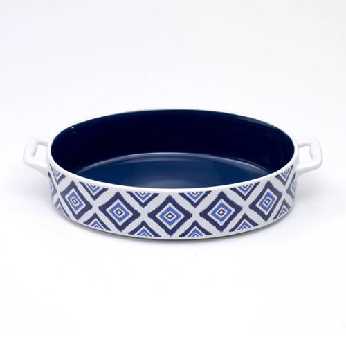 Zafferano America Blue Rhapsody Baking Dish - Set of 2