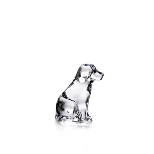 Simon Pearce Glass Puppy in a Gift box- Limited Edition