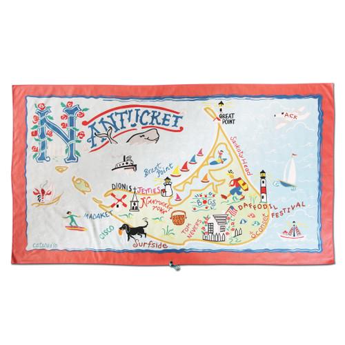 Catstudio Nantucket Beach & Travel Towel